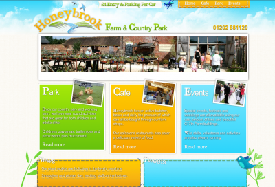 web design for children's activities